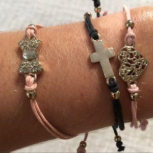Jewelry - Set of 3 Charm bracelets